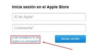 recuperar contraseña id apple