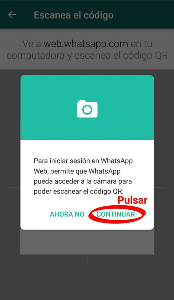 web whatsapp com escanear codigo qr