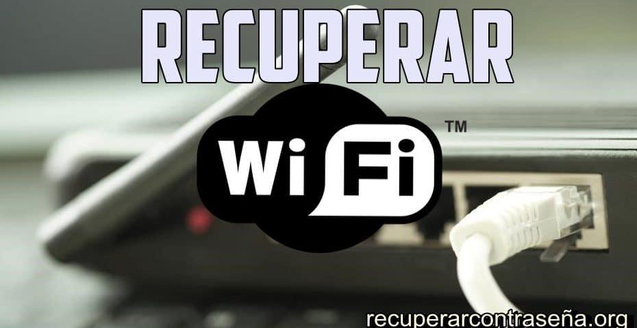 recuperar contrasena wifi