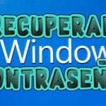 recuperar contrasena windows